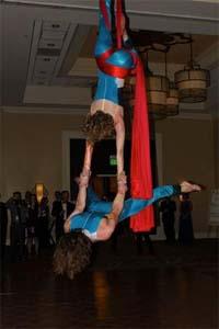 Aerial Silks at the Marriott Charleston SC