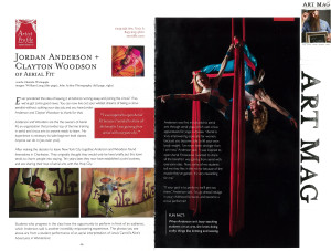 Circus Building Entertainment featured in Art Mag
