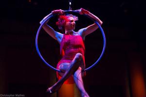 Aerial Hoop performer, Charleston SC