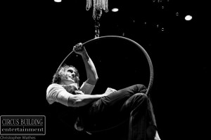 Male Aerial Hoop Performer Charleston SC