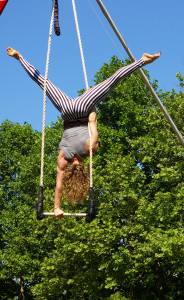 Trapeze Performer