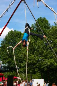 Aerial Rope Performer